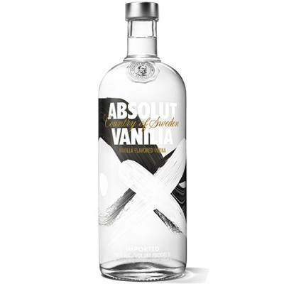 Vodka Absolut Vanilia - 1000ml