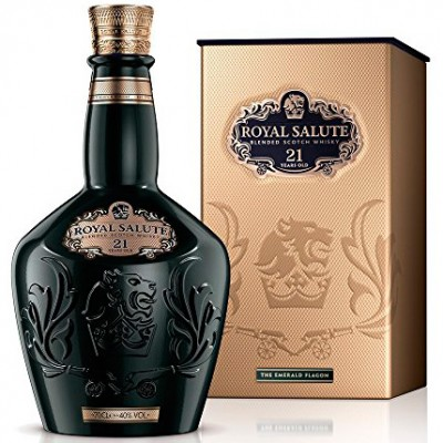 Whisky Chivas Royal Salute - The Emerald - Verde - 21 Anos - 700ml (Nova Embalagem)