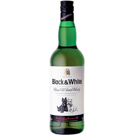 Whisky Black & White - 8 Anos - 1000ml