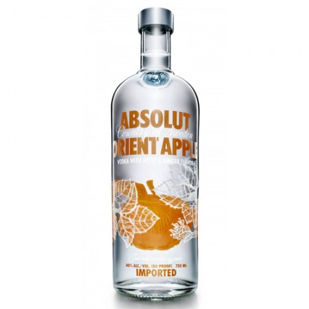 Vodka Absolut Orient Apple - 1000ml