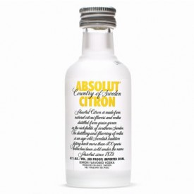 Vodka Absolut Citron - Miniatura - 50ml