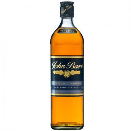 Whisky John Barr Reserve Black - 12 Anos - 1000ml