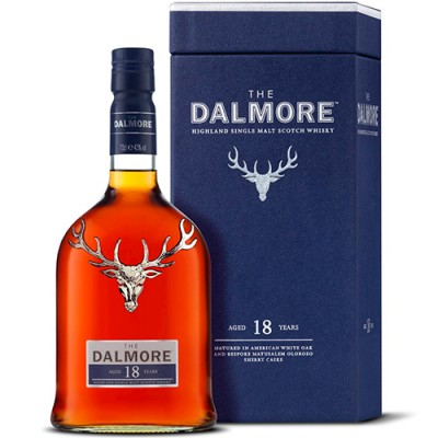 Whisky The Dalmore Single Malt - 18 Anos - 700ml