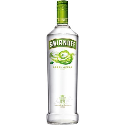 Vodka Smirnoff Green Apple - 998ml