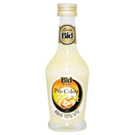Licor Bid Cocktail Piña Colada - Miniatura - 50ml
