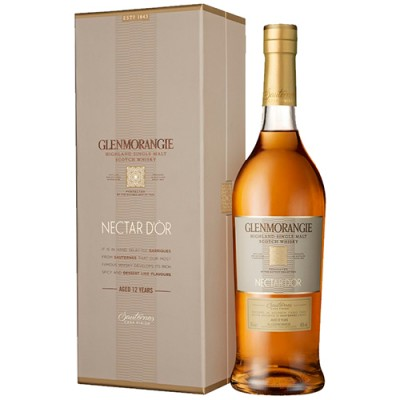 Whisky Glenmorangie Single Malt - The Nectar Dòr - 12 Anos - 750ml