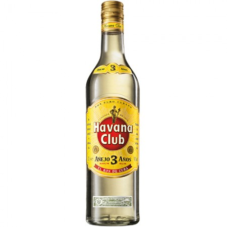 Rum Havana Club - Anejo 3 Anos - 750ml