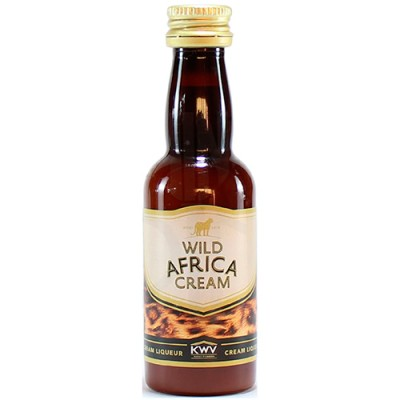 Licor Wild Africa Cream - Miniatura - 50ml