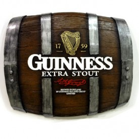 Barril Horizontal - Guinness