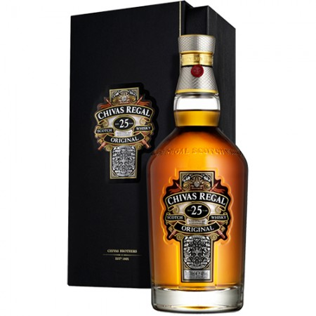 Whisky Chivas Regal - 25 Anos - 700ml