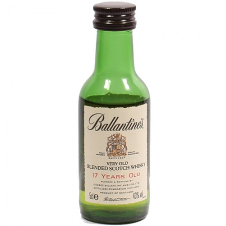 Whisky Ballantines - 17 Anos - Miniatura - 50ml
