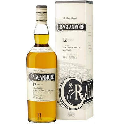 Whisky Cragganmore Single Malt - 12 Anos - 750ml