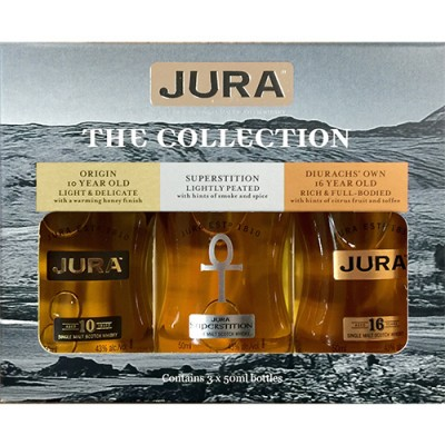 Kit Whisky Jura The Collection - 3 x 50ml