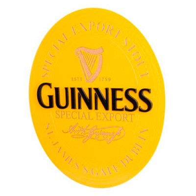 Quadro Decorativo - 43 x 35 - Guinness