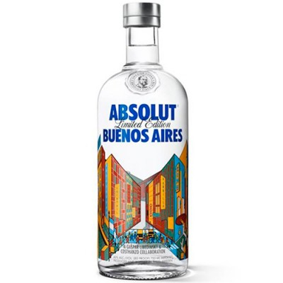 Vodka Absolut Buenos Aires - 750ml
