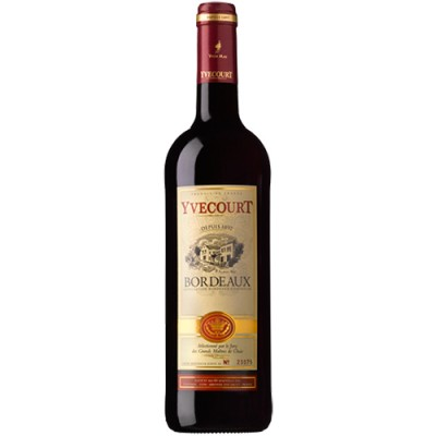 Vinho Yvecourt Bordeaux - Tinto - 750ml
