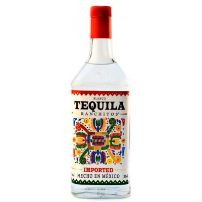 Tequila Ranchitos Prata - Miniatura - 40ml