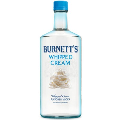 Vodka Burnett's - Whipped Cream (Chantilly) - 750ml