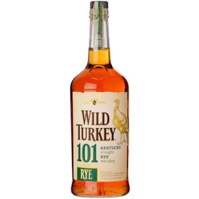 Whisky Wild Turkey 101 Rye Bourbon - 1000ml