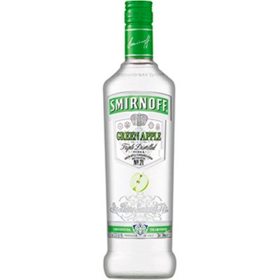 Vodka Smirnoff Green Apple - 600ml
