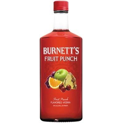 Vodka Burnett's - Ponche de Frutas - 750ml