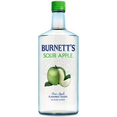 Vodka Burnett's - Maçã Verde - 750ml