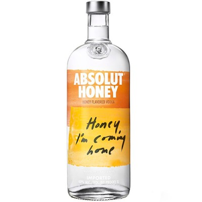 Vodka Absolut Honey - 1000ml