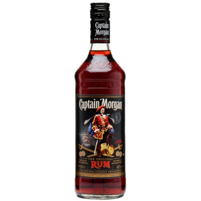 Rum Captain Morgan Black - 700ml