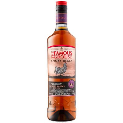 Whisky The Famous Grouse Smoky Black - 1000ml