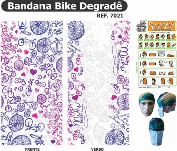 cod.7021<br/>Bandana<br/>Bike Degradê