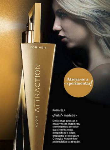 Avon   Attraction Deo Parfum for Her - 50ml