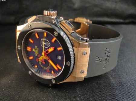 REPLICA DE RELOGIO HUBLOT BIG BANG EDITION FIFA - HUB07  - foto 5