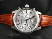 REPLICA DE RELOGIO MONT BLANC TIME WALKER QUARTZ COURO - MON12