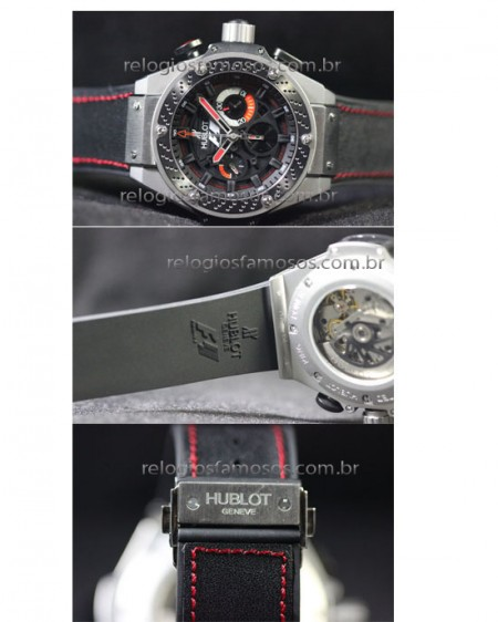HUBLOT F1 KING POWER MAQUINA ETA  - foto 3