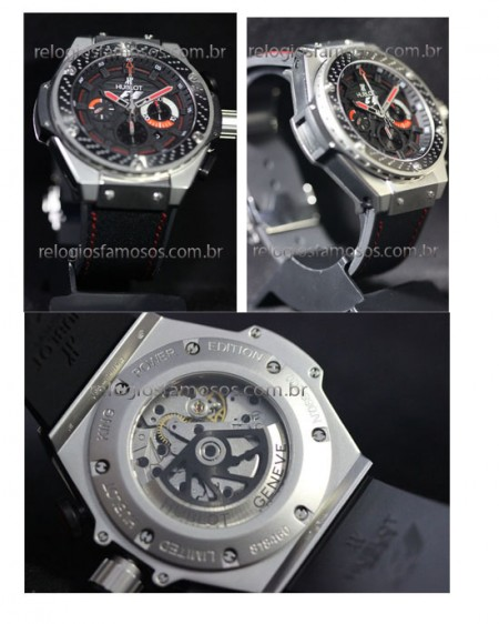 HUBLOT F1 KING POWER MAQUINA ETA  - foto 4
