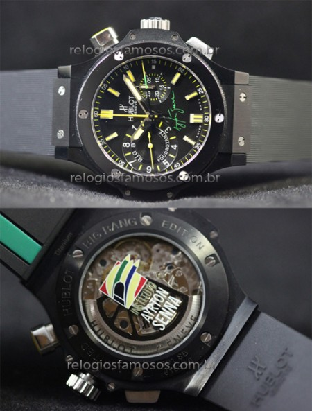 HUBLOT BIG BANG SENNA 2  - foto 2