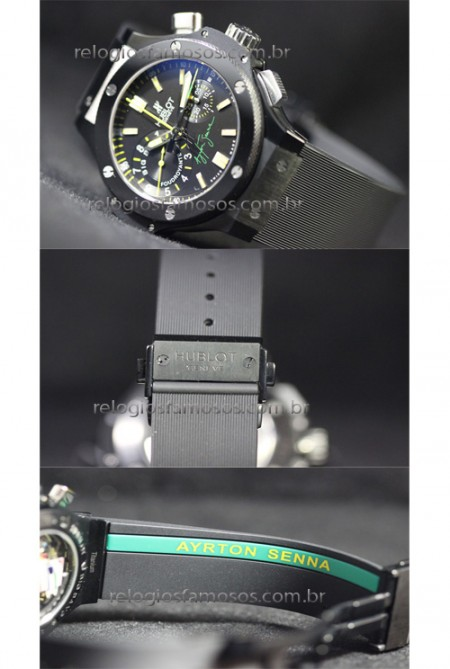HUBLOT BIG BANG SENNA 2  - foto 4