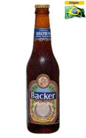 Cerveja Backer Brown 355 ml
