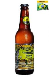 Cerveja Backer 3 Lobos American Pilsen 355 ml