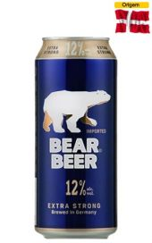 Cerveja Bear Beer Extra Strong 12% 500 ml