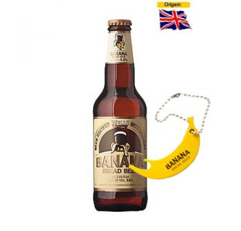 Cerveja Wells Banana Bread Beer 330 ml + Abridor