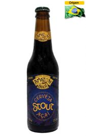 Cerveja Amazon Beer Stout Açaí 355 ml