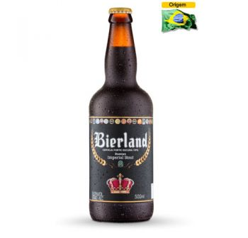 Cerveja Bierland Russian Imperial Stout 500 ml