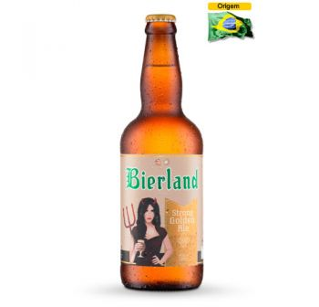 Cerveja Bierland Strong Golden Ale 500 ml