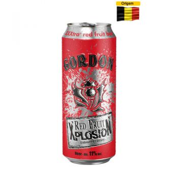 Cerveja Gordon Finest Red Fruit Xplosion 500 ml