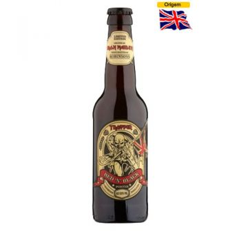 Cerveja Iron Maiden Trooper Red N Black Porter 330 ml
