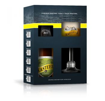 Cerveja Kasteel Hoppy 1+1 750 ml - Kit