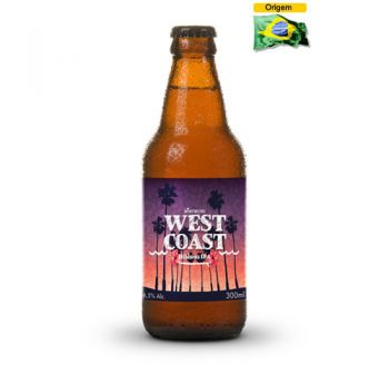 Cerveja West Coast Hibiscus IPA 300 ml
