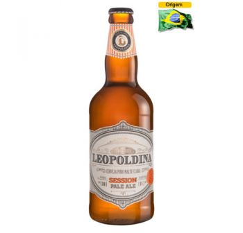 Cerveja Leopoldina Session Pale Ale 500 ml
