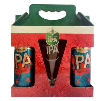 Cerveja Greene King IPA 2+1 - Kit